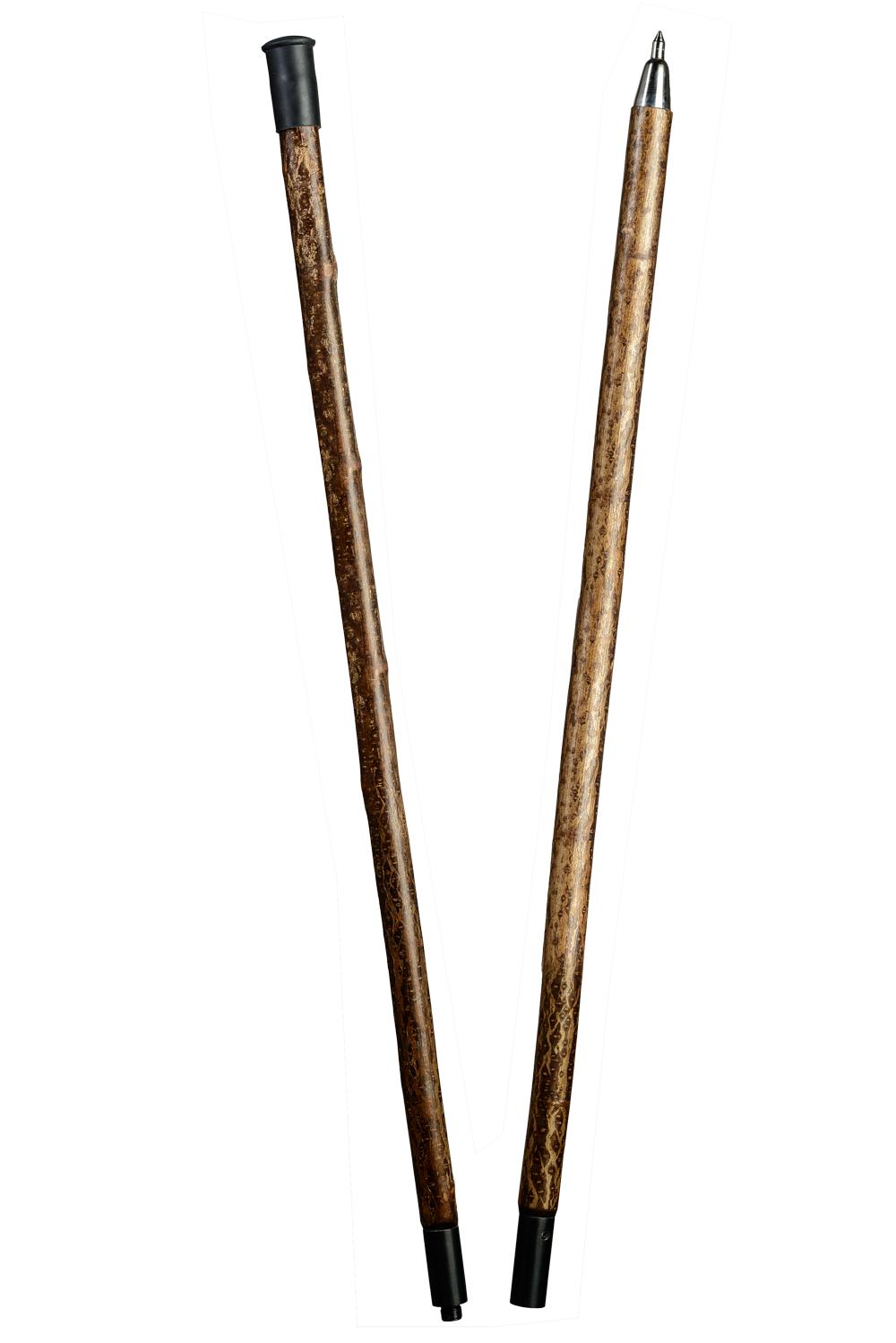 alpenstange haselnuss stabiler wanderstock aus On jagdstock haselnuss