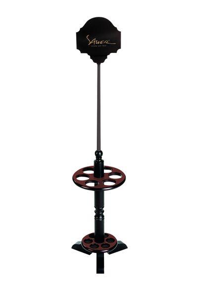 Stockständer Schirmständer RONDO für 6 Stöcke braun/schwarz
