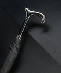 Stützschirm GENTLEMAN Schirm klassisch schwarz – Bild 1