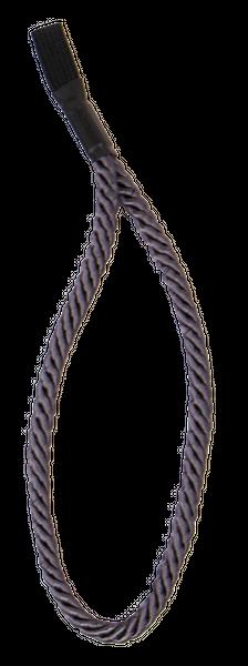 Gehstock TRAGSCHLAUFE, Kordelschlaufe, grau – Bild 1