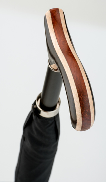 Stützschirm BRAZIL Schirm klassisch schwarz
