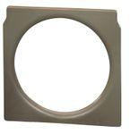 Toilettenstuhl Einsatz aus Kunststoff braun passend für Toilettenstuhl SANILETTE 001