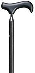 Physio-Step-Derby CARBON,  Derbygriff aus Buchenholz, Stock aus hochfester Carbonfaser, höhenverstellbar, Spezial-Gummipuffer 001