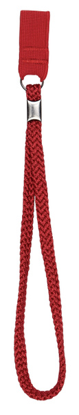 Wrist cord, rubber band for walking stick, red